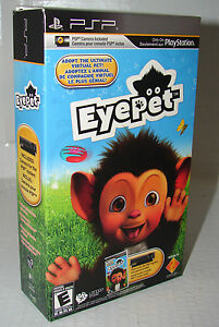 EYEPET (GAME & CAMERA BUNDLE)   SONY PSP   ***NEW SEALED***