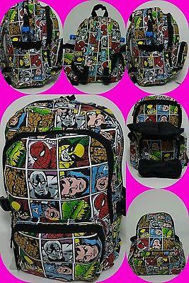Marvel comics/superheroe all over print, school/uni/gym/travel backpack/rucksack ()