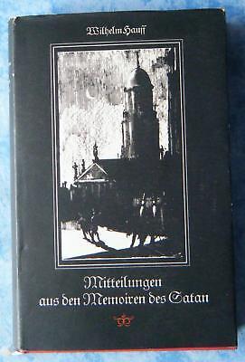Wilhelm Hauff Mitteilungen aus den Memoiren des Satan Bilder Werner Klemke 1956