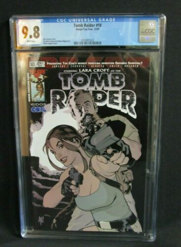 Tomb Raider #18 (2001) Adam Hughes Cover Image/Topcow Comics  CGC 9.8 W026