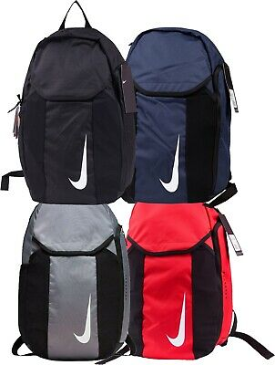 Nike Academy Team Adult Backpack Rucksack Gym School Black Sports Bag Unisex