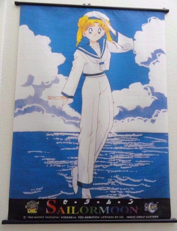 SailorMoon Scroll 1998 Naoko Takeuchi Animation