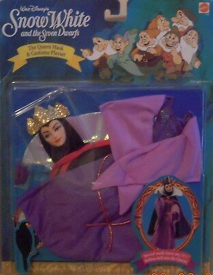 NEW DISNEY SNOW WHITE AND THE SEVEN DWARFS EVIL QUEEN BARBIE DOLL COSTUME (Snow White And The Evil Queen Costume)
