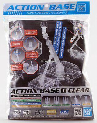 Bandai Gundam Action Base 1 Clear Stand Model Kit HG NG 1/144 RG MG 1/100 Gunpla 100 Action Base