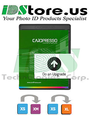 CardPresso XS Edition Software Upgrade To XM or XL (Latin America Region Only)