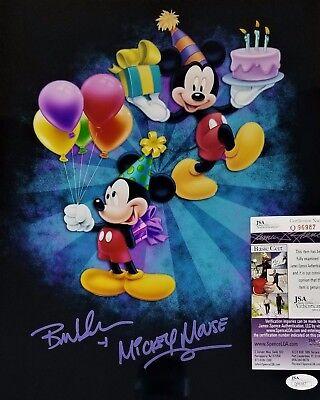 *HAPPY BIRTHDAY* Bret IWAN MICKEY MOUSE SIGNED 11x14 Photo Autograph JSA COA