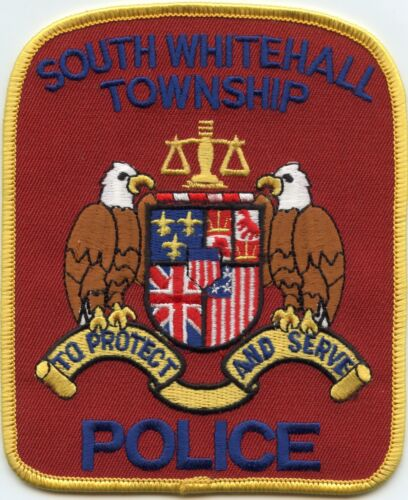 SOUTH WHITEHALL TOWNSHIP PENNSYLVANIA PA To Protect And Serve POLICE PATCH