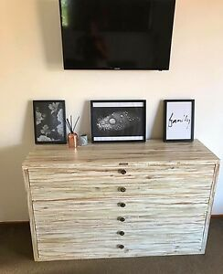 Custom made tall boy and bedside table New Highland Park Gold Coast City Preview