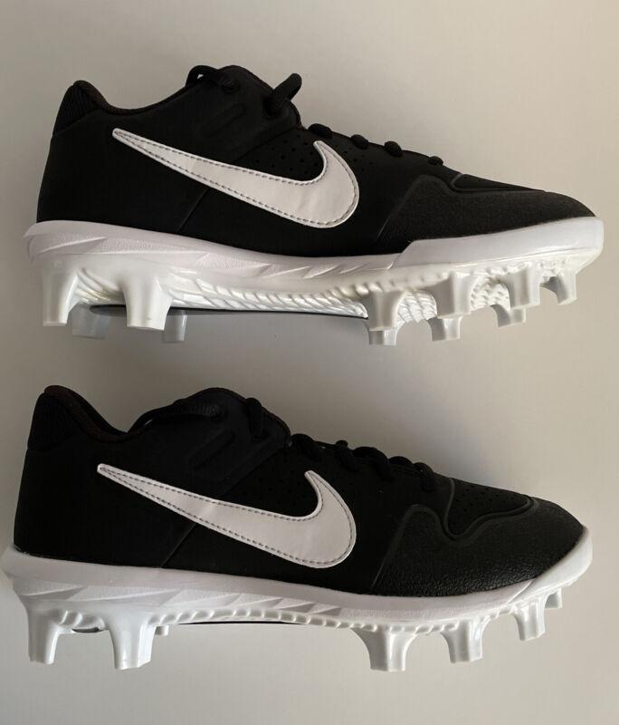 Nike Youth Size 5 Alpha Huarache Varsity Shoe Boys Baseball Cleat AO7583-001
