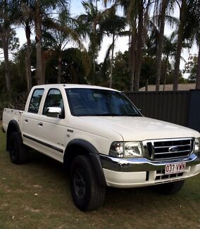 2005 Ford Courier XLT dual cab ute. Auto with towbar rego and RWC Helensvale Gold Coast North Preview
