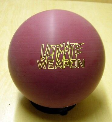 = 11(10.88) Champions Ultimate Weapon Wine Bowling Ball Tw 0.98