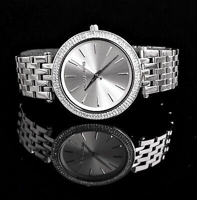 Original Michael Kors Uhr Damenuhr MK3190  Darci Frabe:Silber Kristall NEU online kaufen