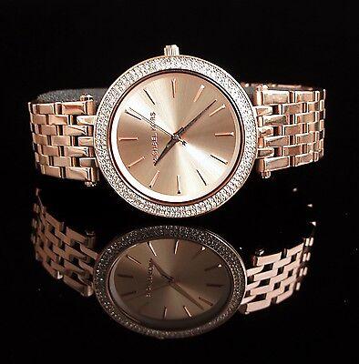 Original Michael Kors Uhr Damenuhr MK3192 Darci Edelstahl in Frabe:Rose Gold NEU online kaufen