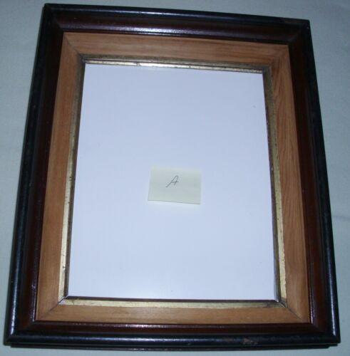11x13 Antique Victorian Walnut Wood w/gold trim  Frame  A