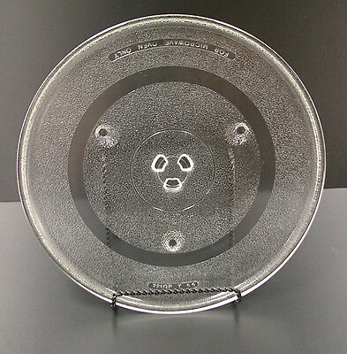 (Microwave Glass Turntable Dish Tray Plate Replacement Part (721QP T 55) 12 5/16
