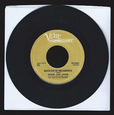 Friend and Lover REACH OUT OF THE DARKNESS / TIME ON YOUR SIDE - 45 RPM