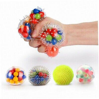 Fansteck Stressball Set [4er-Pack], Squishy Mash Ball / Anti-Stress-Bälle für...