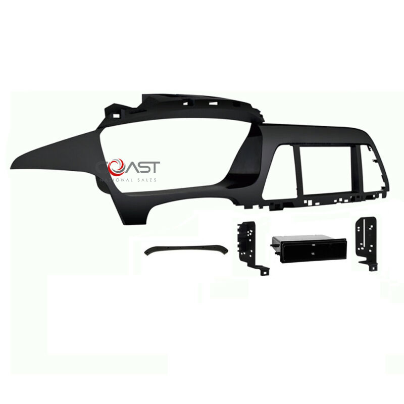 Car Radio Stereo Single Double Din Dash Kit Panel for 2015-up Hyundai Sonata