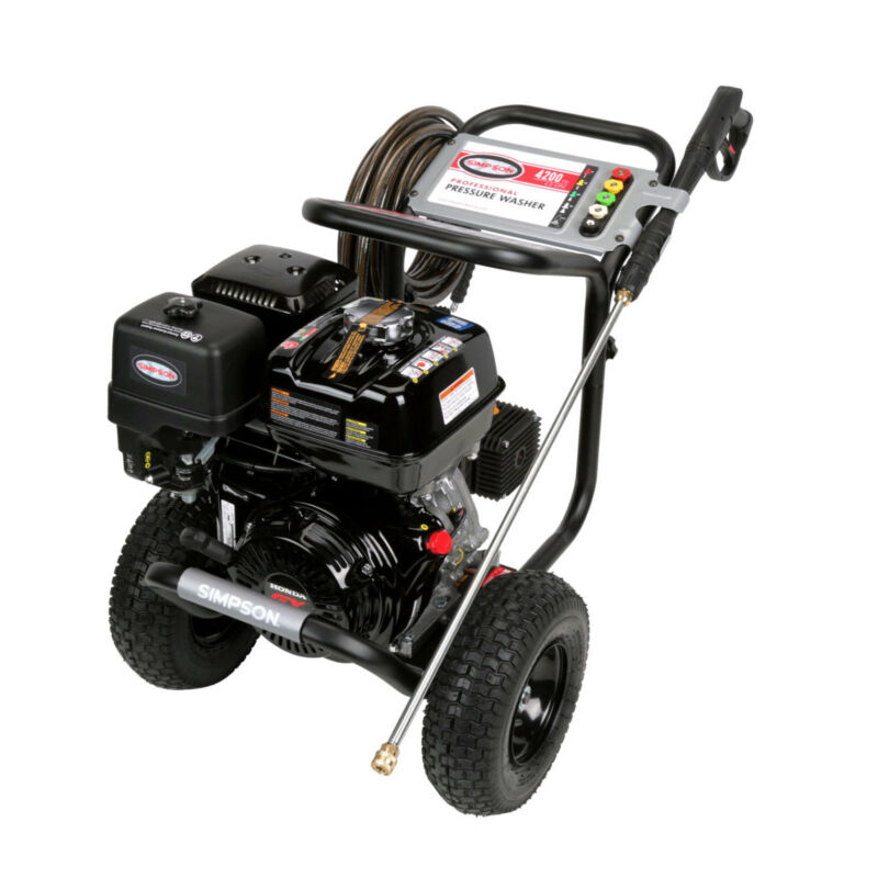 Simpson PS4240S PowerShot 4,200 PSI 4.0 GPM 389cc Gas Honda Engine Power Washer