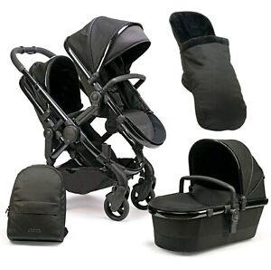 BRAND NEW iCandy Peach DC Cerium double pram (1 bassinet and 2 seats)