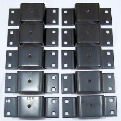 10 Pack Bolt on Tapered Stake Pocket For Trucks  Trailers   PK BSP