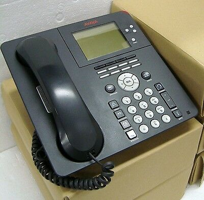 5 Pc. Avaya 9650 Poe Ip Phone 700383938 700506209