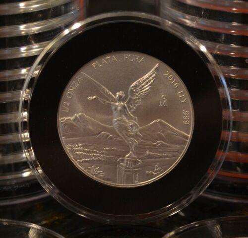 2016 Mexican Libertad 1/2 oz. silver BU coin .999 fine silver