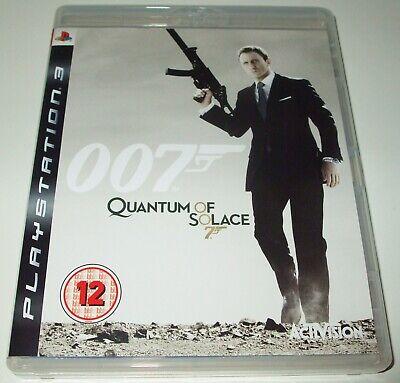 Usado, 007 James Bond QUANTUM OF SOLACE Playstation 3/PS3 FPS Game NEW CASE/MINT DISC comprar usado  Enviando para Brazil