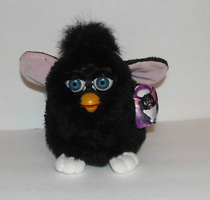 1998-FURBY-WITH-TAGS-TIGER-ELECTRONICS-1ST-GENERATION-BLACK-MODEL-70-800