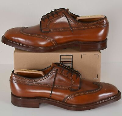 NEW $995 CHURCH'S Custom Grafton Brogue Brown Dress Shoes – UK 11 D/ US 11.5 D