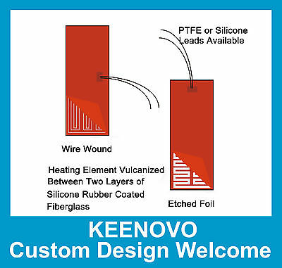 KEENOVO Custom Designed and Manufactured Silicone Heater(s) Payment Link