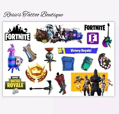 Boys Xbox games Temporary Tattoos Kids Fun Pocket money Toys Party Bag Fillers ☆ - Xbox Party Supplies