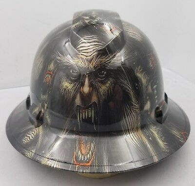 Hard Hat Custom Hydro Dipped Osha Approved New Big Foot Sasquatch Sick