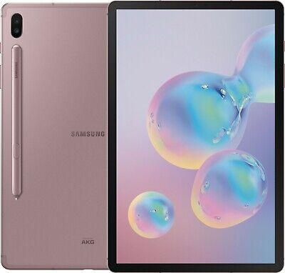 "Samsung Galaxy Tab S6 SM-T865 128GB Rose (FACTORY UNLOCKED) Wi-Fi + 4G 10.5"""