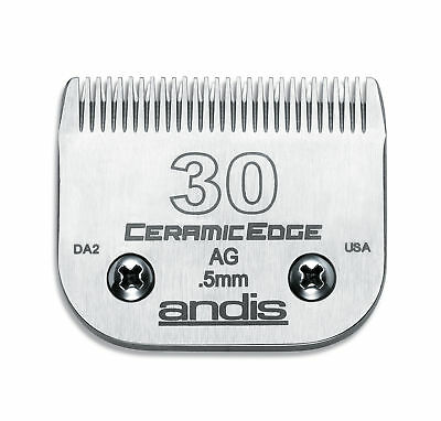 Andis Ceramic Edge Blade Size 30 Leaves 0.5mm Fits Andis, Wahl, Oster, A5 for sale  Shipping to Ireland