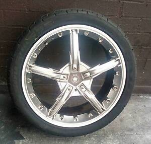 Awsome 4 wheel and tyre package. Suit holden vectra,Calibra,Astra Woongarrah Wyong Area Preview