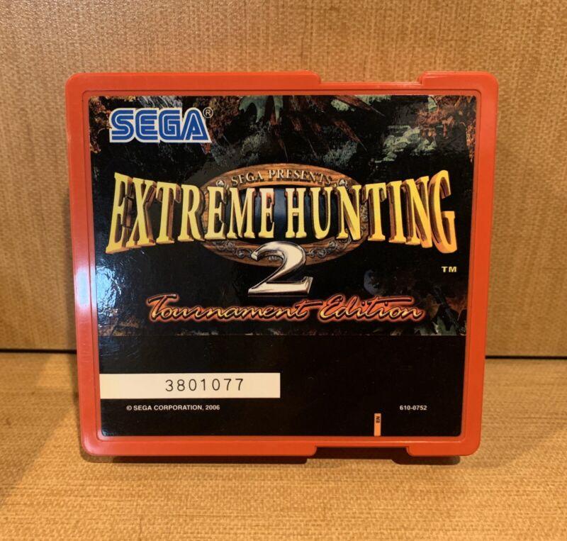 Extreme Hunting 2 Tournament • Sammy/Sega Atomiswave Arcade JAMMA• Gun Shooting