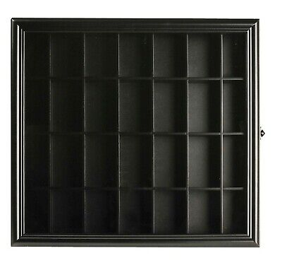 Gallery Solutions Shot Glass Display Case Excellent Gift (Glasses Gallery)