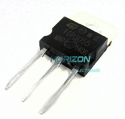 10pcs New Tip3055 Tip 3055 Transistor Npn 60v 15a To-3p Best Senior