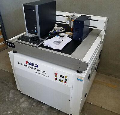 K-star Glass Cnc Cutting Mc Machine For Small Medium Sized Lcd Glass