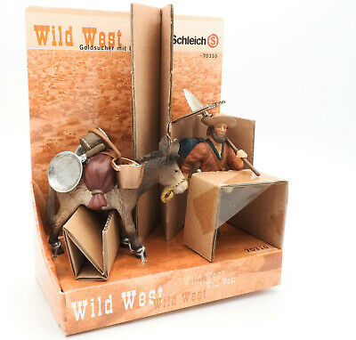 Schleich 70310 Gold Prospector with Donkey - American Wild West