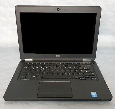 DELL Latitude E5250 Notebook Intel Core i5-5300U CPU 256 GB SSD 8 GB DDR3 RAM Laptop Notebook Cpu