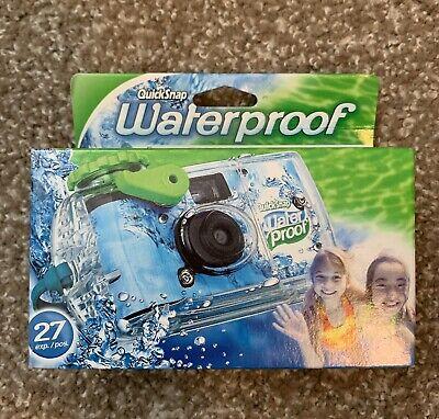 FujiFilm Disposable Cameras Quick Snap Waterproof Camera Expire 1/18
