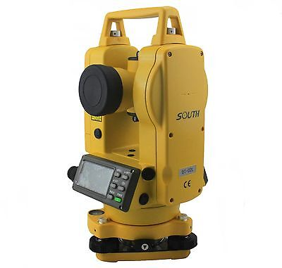 New 2 Theodolite South Electronic Theodolite Dt-02l Laser Point Laser Plummet