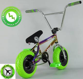 Oil Slick Mini BMX Bike Wildcat Rocker   FREE SHIPPING!!