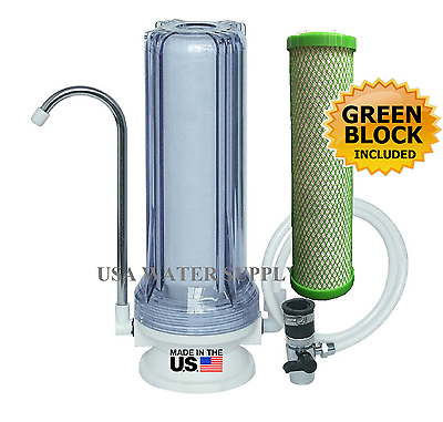 CounterTop Single Stage Drinking Water Filter - Carbon Filte