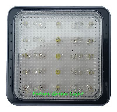MOTORHOME CAMPERVAN 25 WHITE LED INTERIOR/EXTERIOR WATERPROOF LIGHT 12/24V DC
