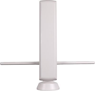 Indoor Uhf Hdtv - AMPLIFIED HDTV DIGITAL OUTDOOR INDOOR ATSC TV DTV UHF VHF FM ANTENNA ~150 miles