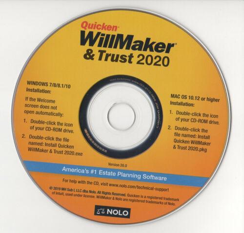 WillMaker 2020 Trust CD