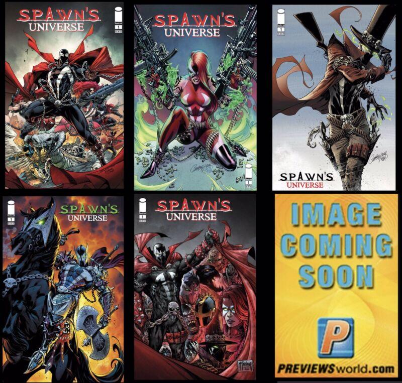 Spawn Universe 1 6 book presale 6/23